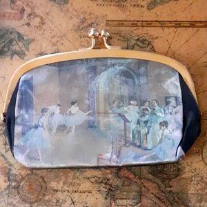 Vintage Ladies clutch handbag/ Coin Purse 1950,s